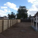 Image of fence built by coyote contracting number 1