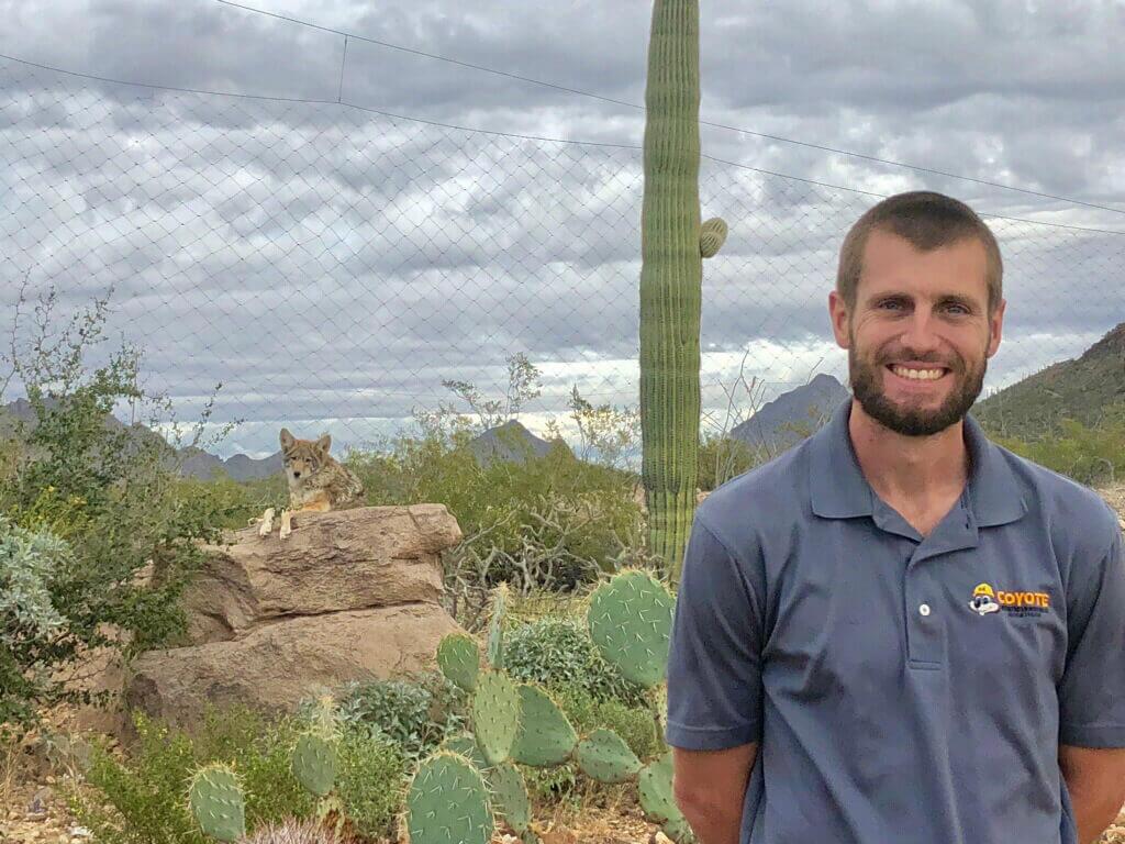 Owner John Blevins w/ Tucson Coyote